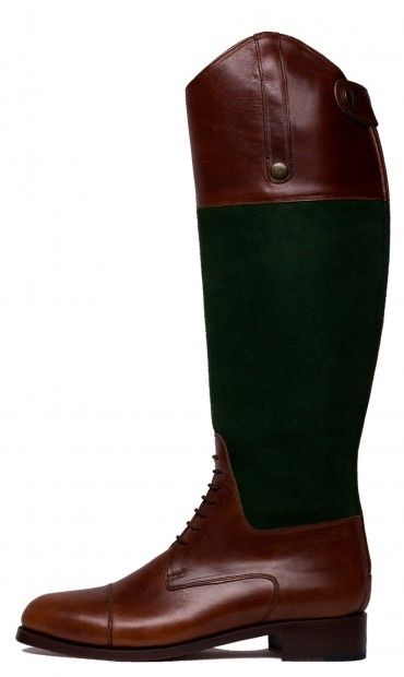Tall boots, leather and suede boots, brown boots for woman, brown and green boots, comfortable boots, plain boots, perfect boots for any occasion, formal casual boots