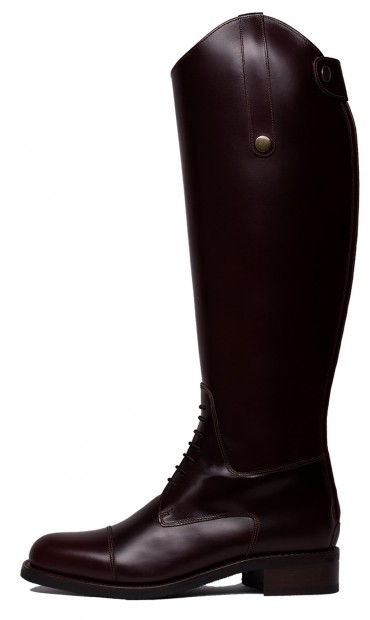 Dark brown boots, tall boots, boots with laces, leather brown tall boots for women, comfortable boots, boots for the winter, gorgeous boots