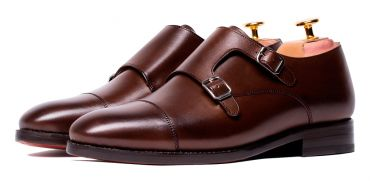 Monkstrap shoes for men, monkstrap shoes in Brown, Brown shoes, comfortable shoes, good quality shoes made in spain, Brown monkstraps for men, chocolat shoes