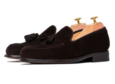 Shoes that can be used without socks, leisure shoes, shoes with elegant silhouettes, menstyle edition
