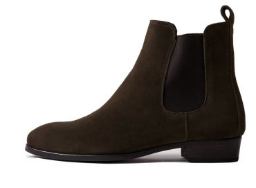 Brown chelsea boots for any type of lady, elegant shoes, good quality shoes