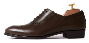 Brown Oxford shoes for women, cognac shoes for women, comfortable shoes, office shoes, shoes for formal events, chocolate color shoes, shoes made in Spain