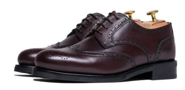 Impecable shoes, derby shoes for men, burgundy derby shoes, burgundy shoes for men, shoes with big instep, elegant shoes, formal shoes, comfortable shoes to put on