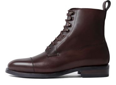 Brown Balmoral boots , Derby boots for men, mens boots with laces