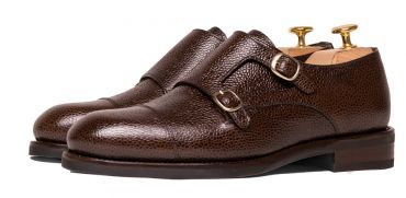 Monkstrap shoes, mocca shoes, dark Brown shoes for men, Brown shoes for any type of men