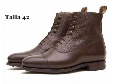Balmorals boots, semi casual boots, comfortable shoes for men, hazelnut shoes for men, chocolate color boots, boots for the rain