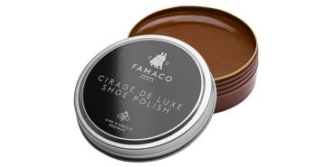 Cream for shoes, cream care shoes, brown wax, mahogany brown wax, natural wax, saphir, wax shine, cream saphir shoes