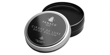 Black shoe polish, shoe recolorante wax buffing cream, cream for shine, animal wax, cream saphir, cream for black shoes