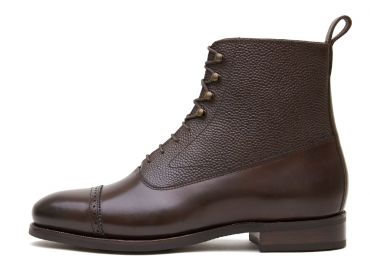 Oxford boots for men, balmoral boots for men, dark brown boots, comfortable boots, ideal shoes, perfect boots for the rain
