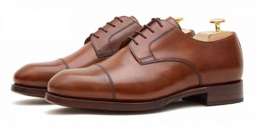 derby shoes for men, brown mens bluchers shoes