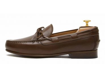 Moccasin shoes for men, string shoes, brown string shoes, Brown loafer, hazelnut brown shoes, comfortable shoes, perfect shoes made in Spain