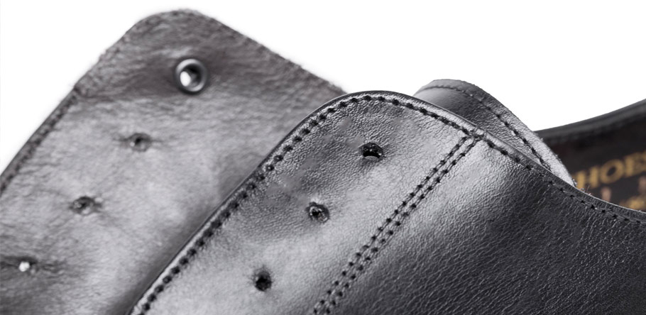 Invisible Eyelets Goodyear Shoes