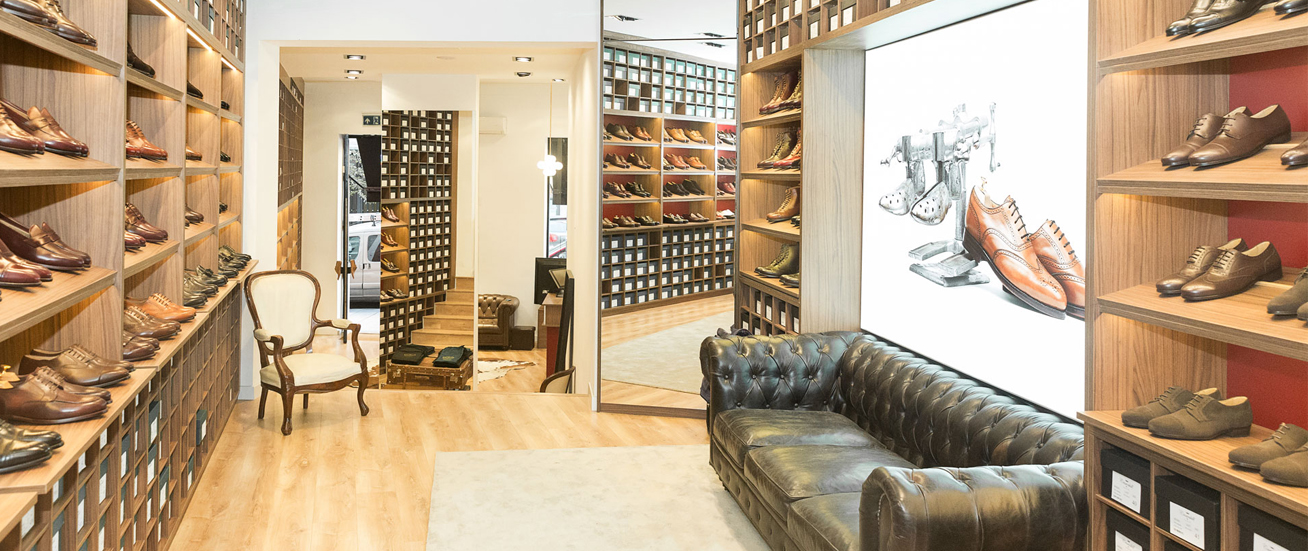 Crownhill Shoes Flagship Store in Madrid